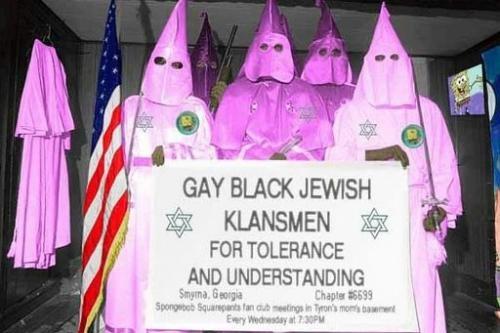 Gayblackjewishklansmen